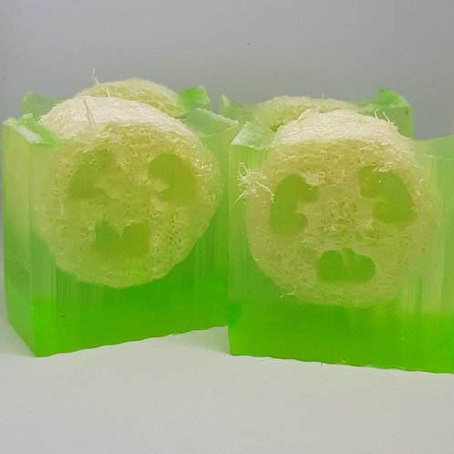 Grapefruit & Kiwi Loofah soap
