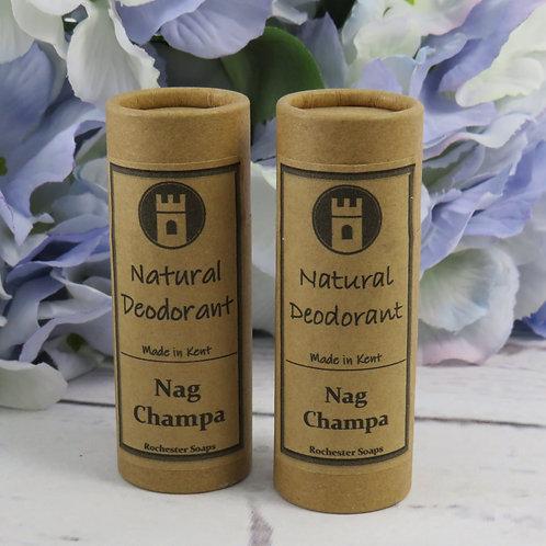 Natural Deodorant -Nag Champa