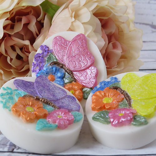 Hand painted soap - Turtle Dove