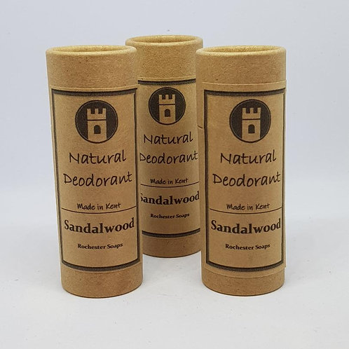 Natural Deodorant -Sandalwood