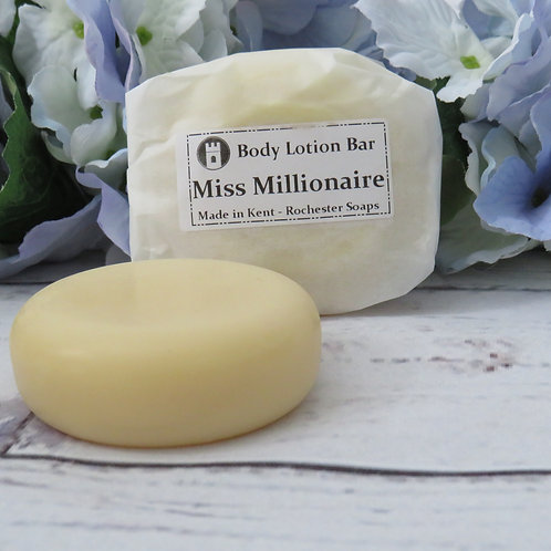 Body lotion bar -Miss Millionaire