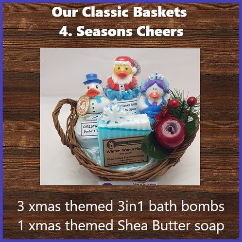 Classic Gift Basket-Seasons Cheer