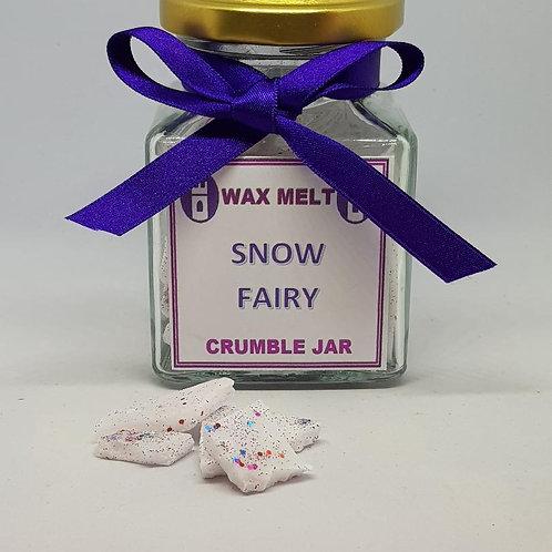 Wax crumble jar- Snow Fairy