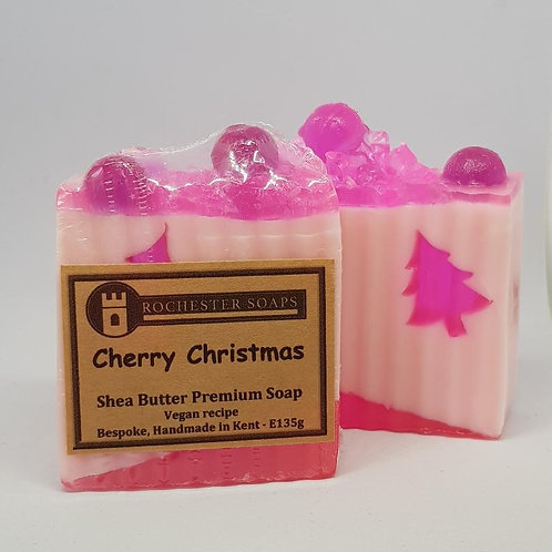 Cherry Christmas - shea butter soap