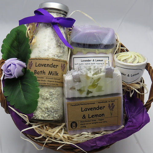 Lavender & Lemon Gift Set.