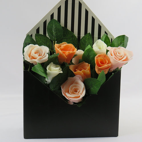Hand made soap rose box