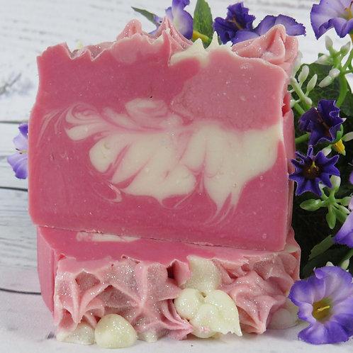 Wine & Roses soap