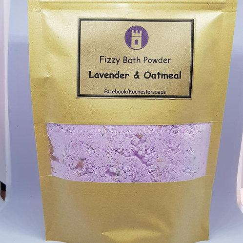 Fizzy Bath Powder -Lavender & Oatmeal