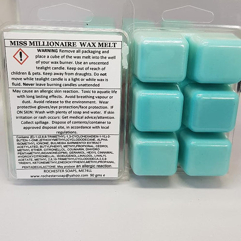Miss Millionaire wax melt clam