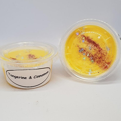Tangerine & Cinnamon wax melt pot