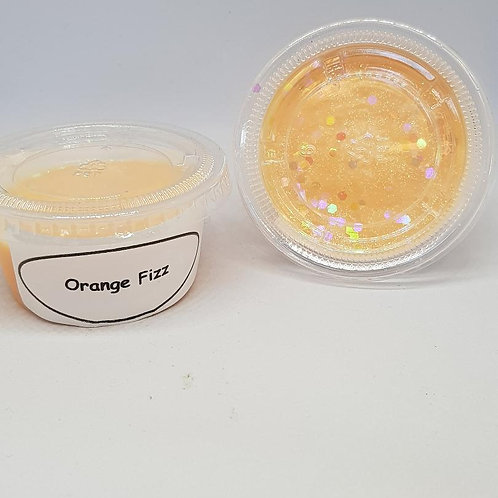 Orange Fizz wax melt pot