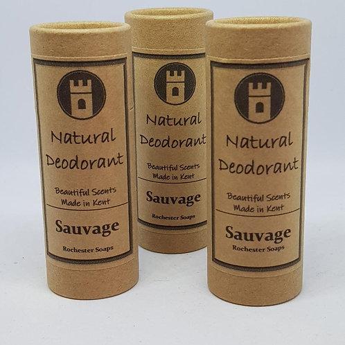 Natural Deodorant - Sauvage