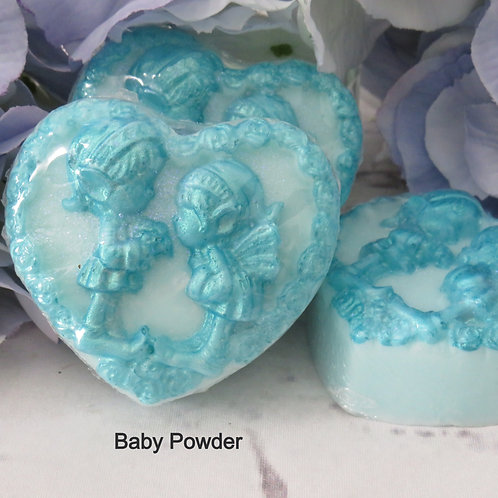 Hand painted soap heart