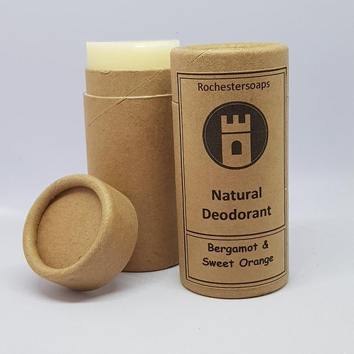 Bergamot & Sweet Orange natural deodorant
