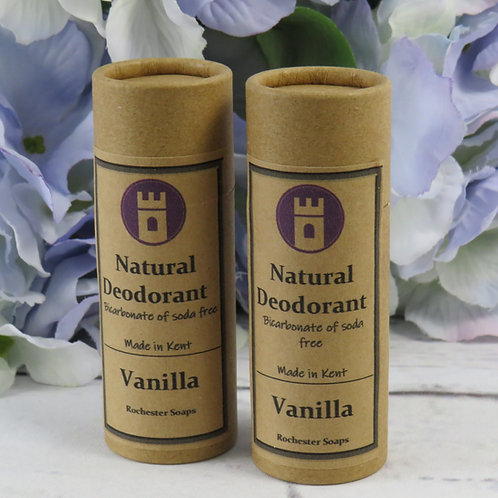 Natural Deodorant - Vanilla