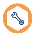 spanner by Panda Icons from the Noun Project