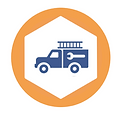 service truck by Luis Prado from the Noun Project