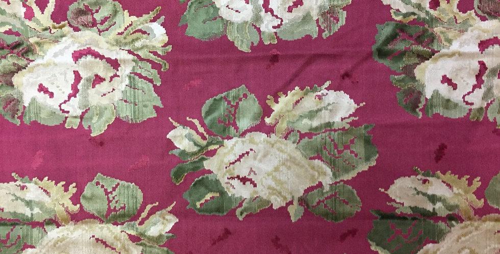 Luxurious Velvet - Cranberry - Green