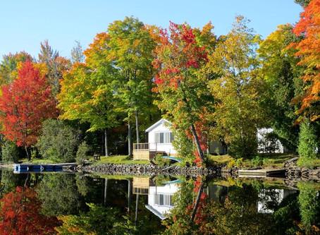 Les couleurs d'automne au Québec