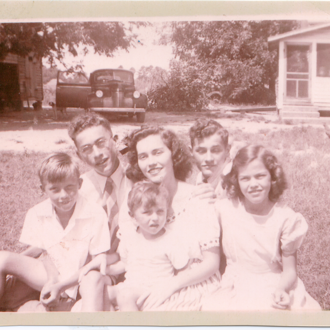 Granddaddy and Siblings - 1943 or 1944.p