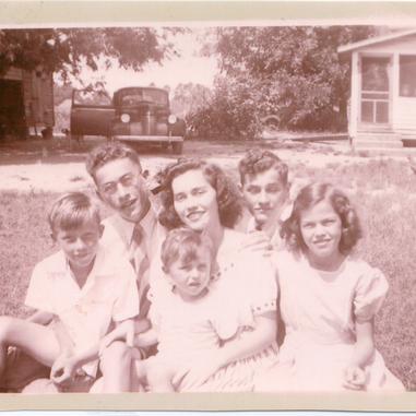 Granddaddy and Siblings - 1943 or 1944.p