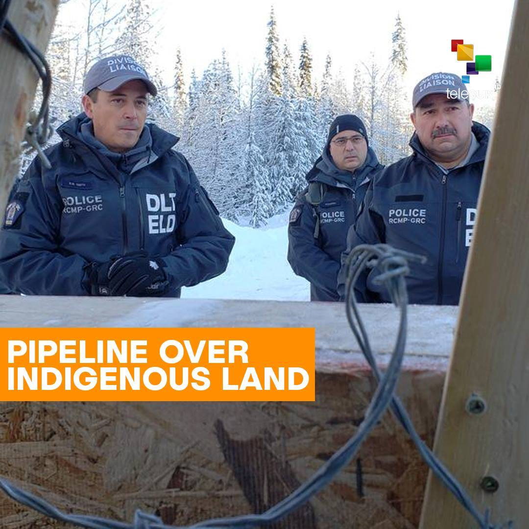 Pipeline Over Indigenous Land