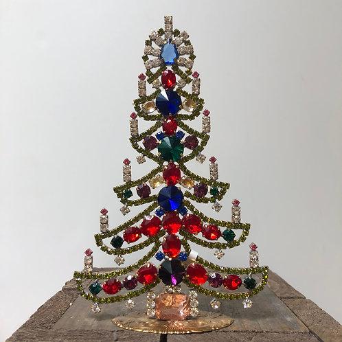 Czech Glass Christmas Tree