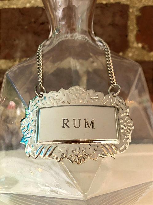 Liquor Tag - Rum