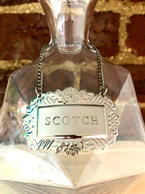 Liquor Tag - Scotch