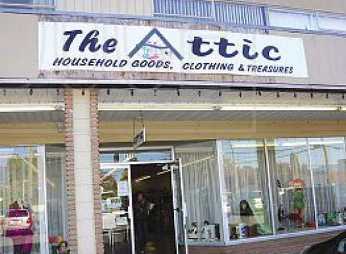 The Attic Supports Our Hospital