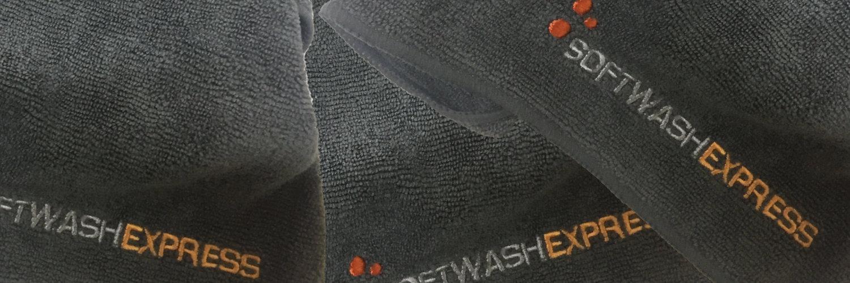 De softwashexpress droogdoek met gratis omruilservice