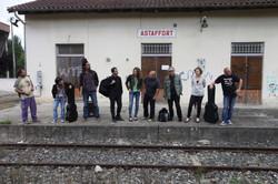La Nuit d'Encontre en gare d'Astaffort