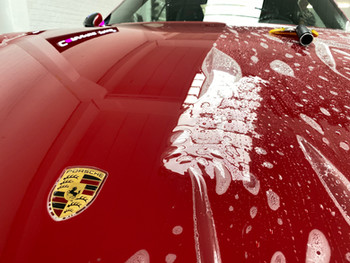 Paint Protection Film 50% afgewerkt