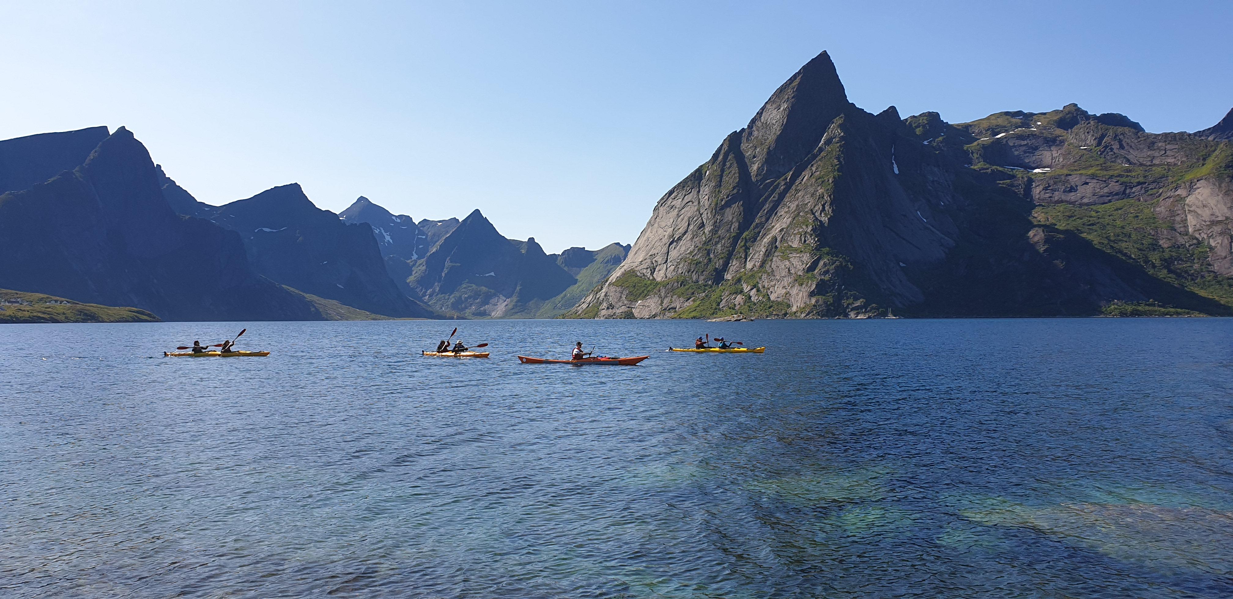 Lofoten - trail running, fjords