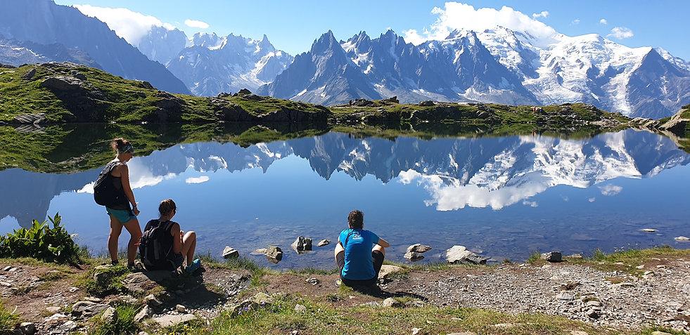 Hiking and trekking in Chamonix tour