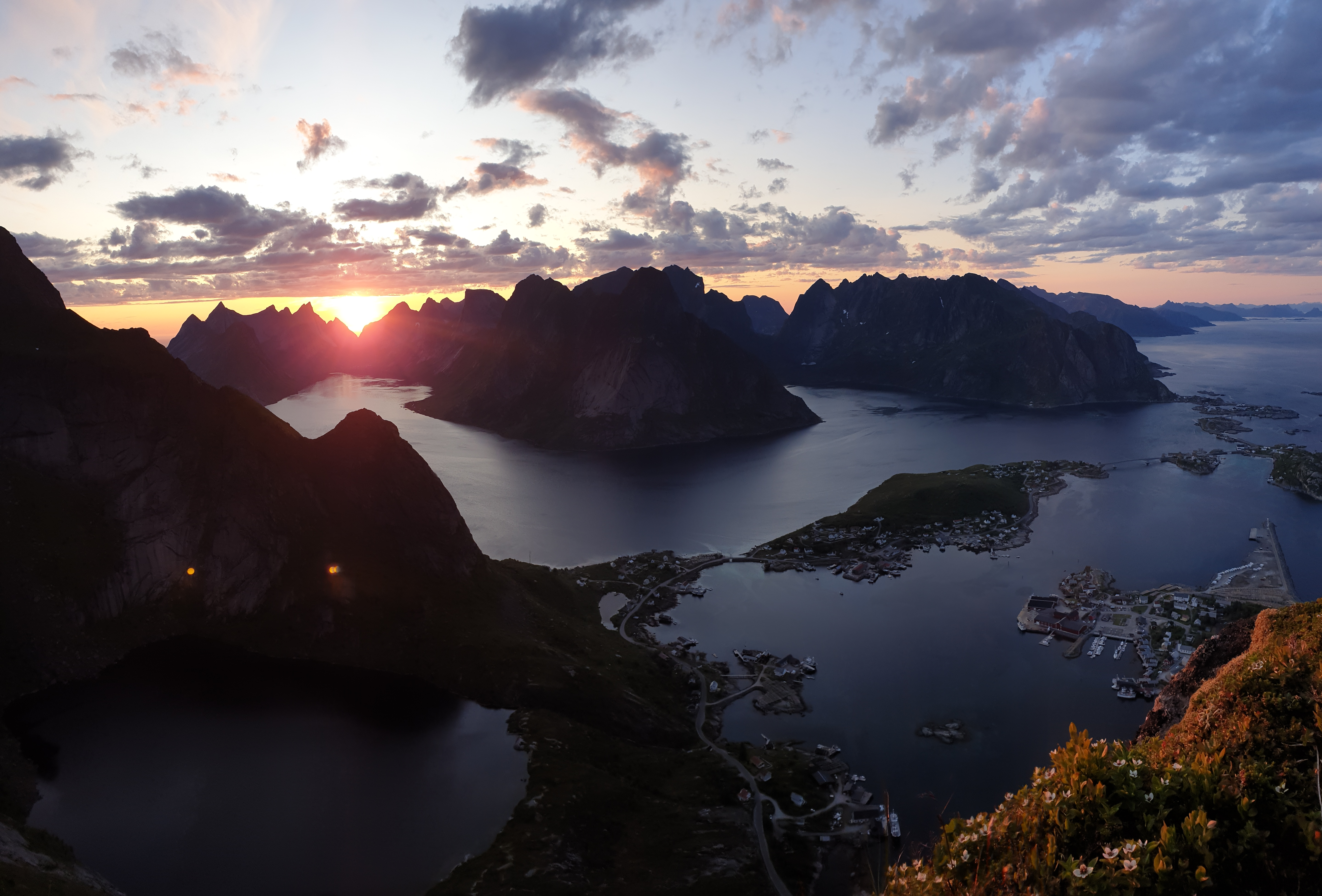 Lofoten and the midnight sun