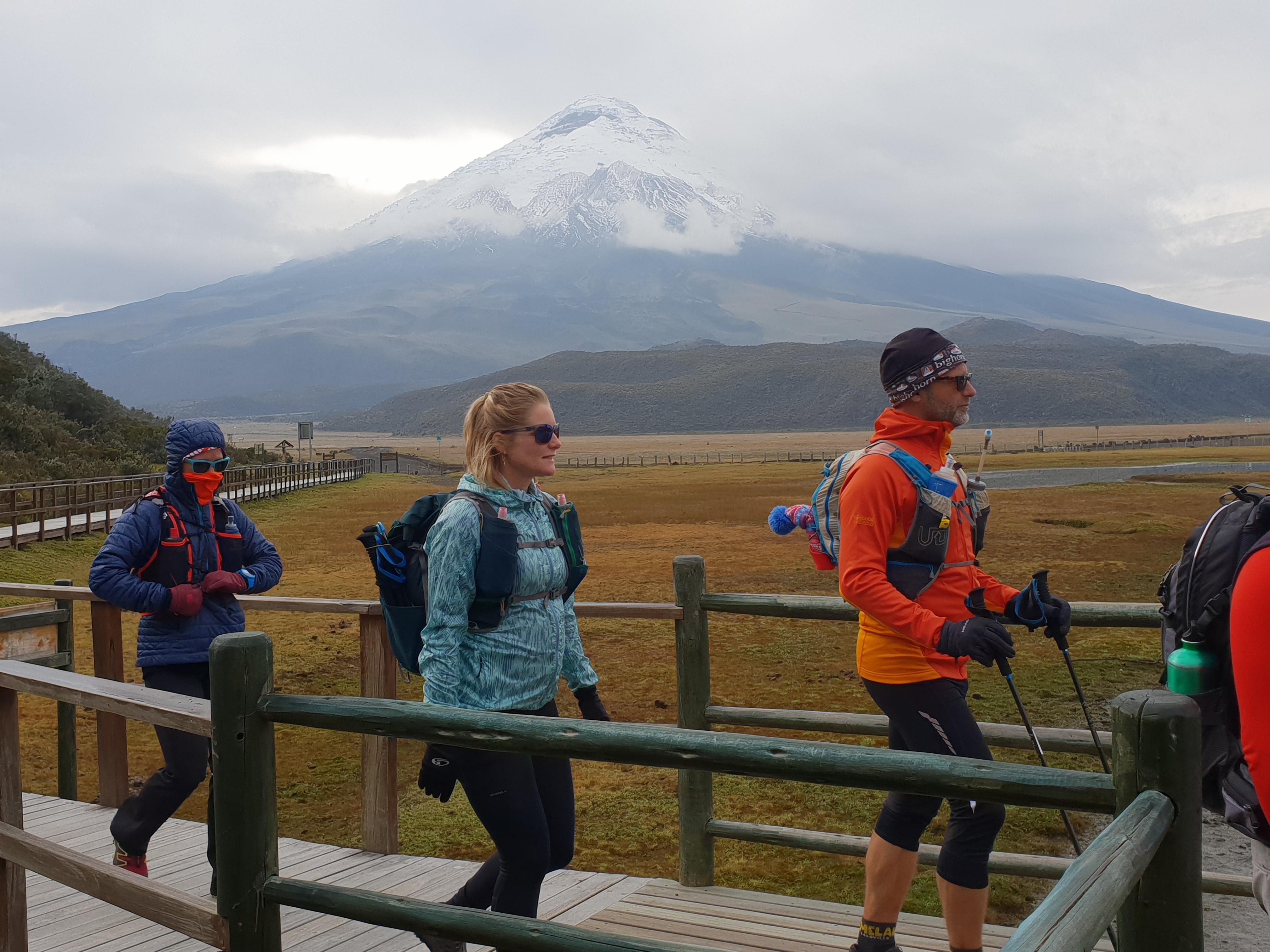 Cotopaxi, Trail Running Ecuador