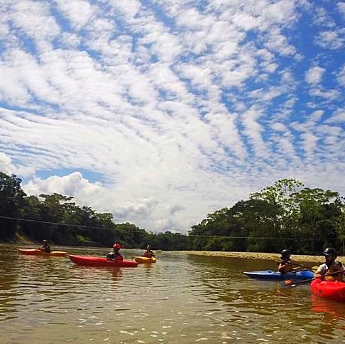 Ecuador - kayaking