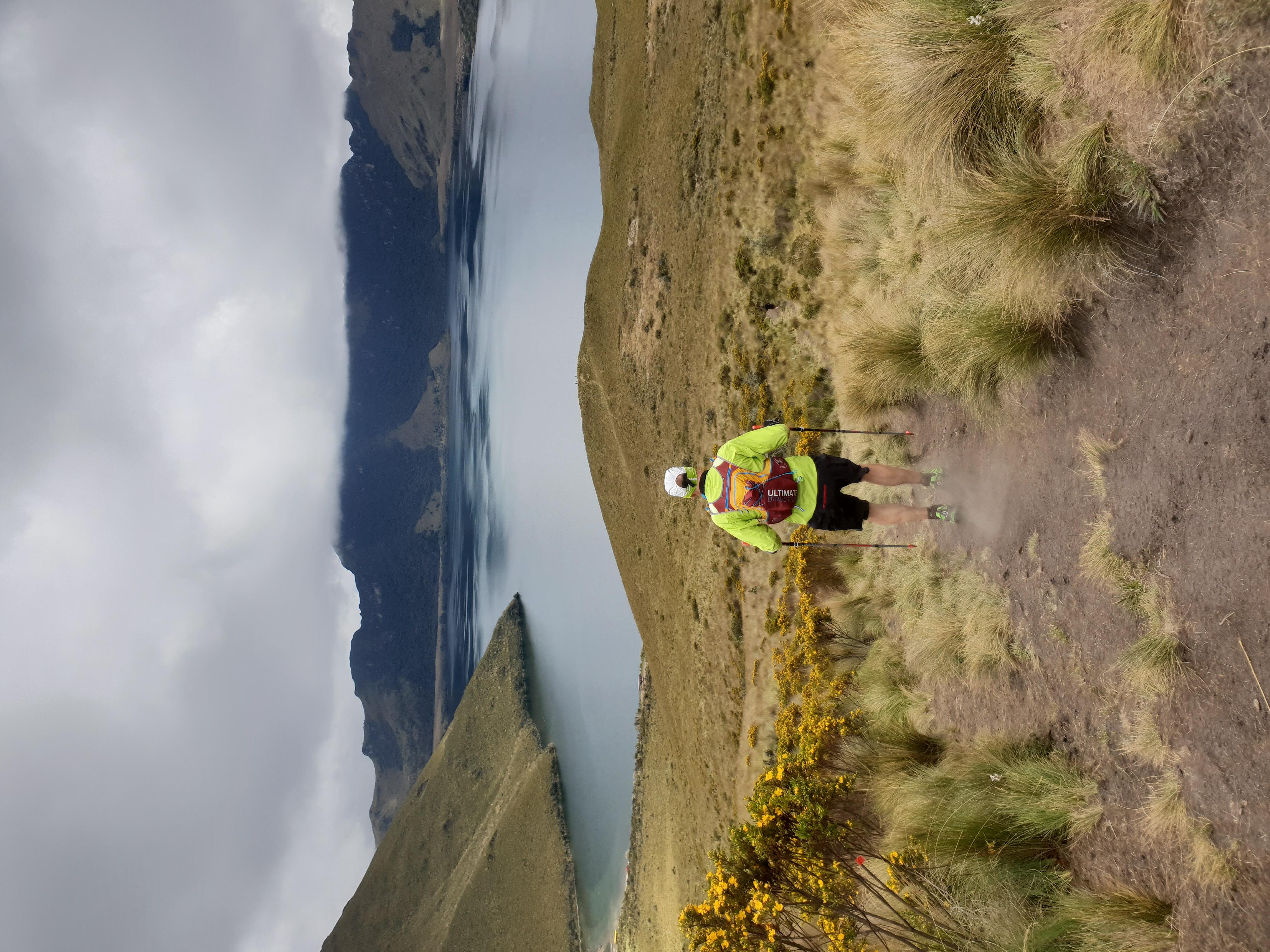 Trail running, Fuya Fuya, Ecuador