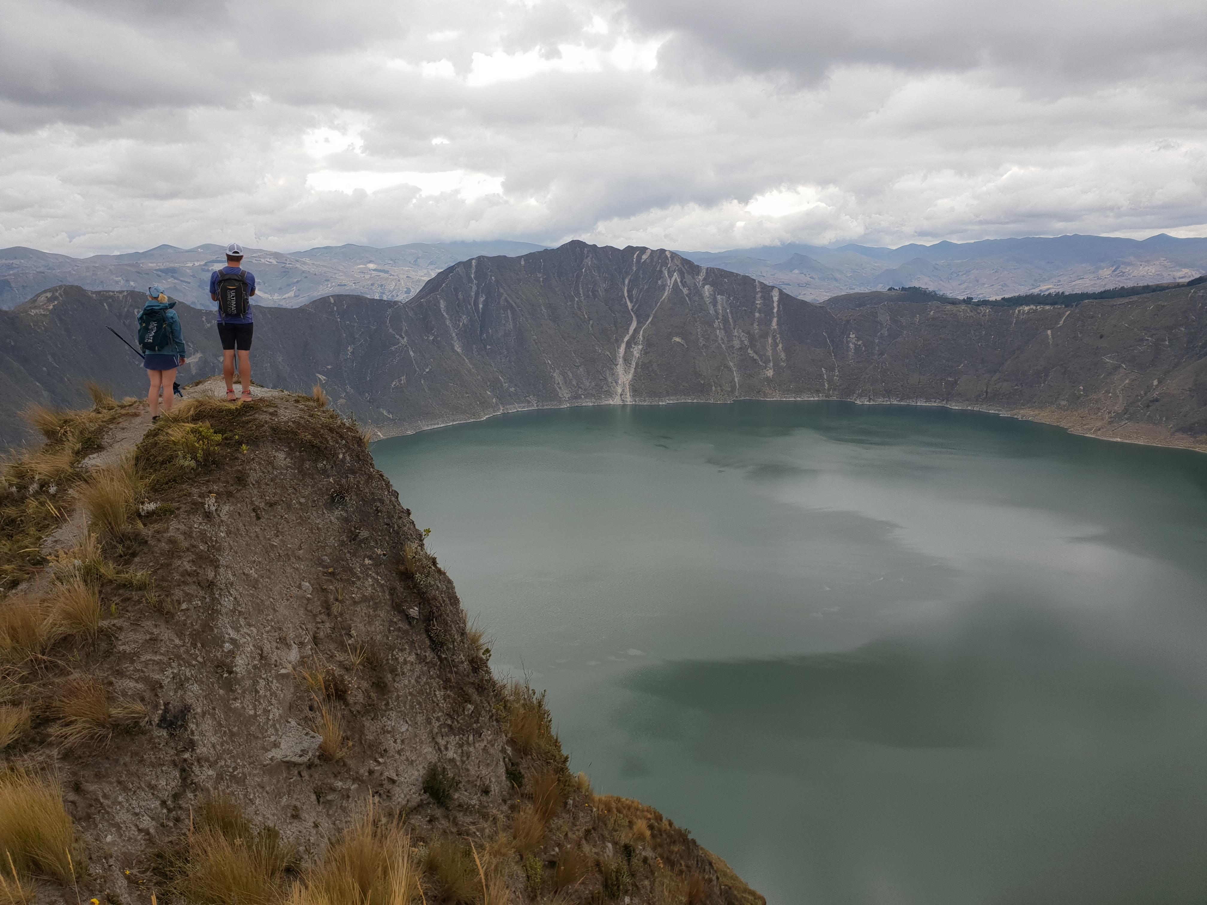 Ecuador, trail running hiking tours