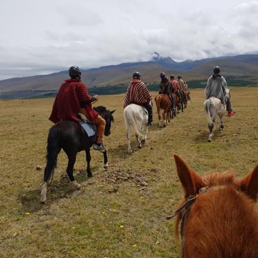 Cotopaxi - Horse riding