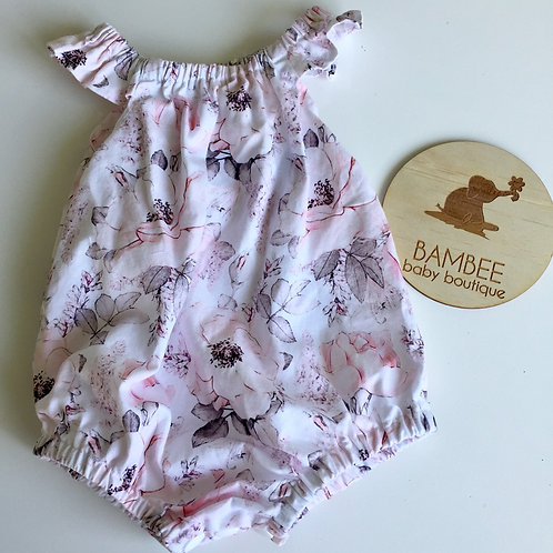 Alaska White Seaside Romper