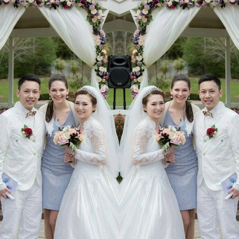 Marriage Ceremony at Gracehill Vineyard Estate
