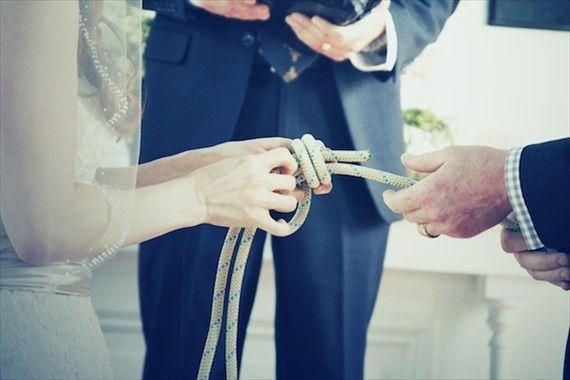 nautical wedding ceremony tying the knot.jpg