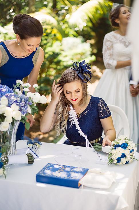 Marriage Celebrant Service at Waitakere Estate