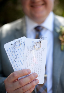 wedding vows with rings