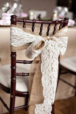 rustic  weding decor chair tie bow.jpg