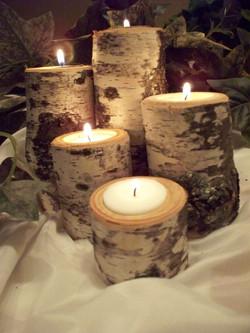 russian themed wedding centerpiece birch candle.jpg