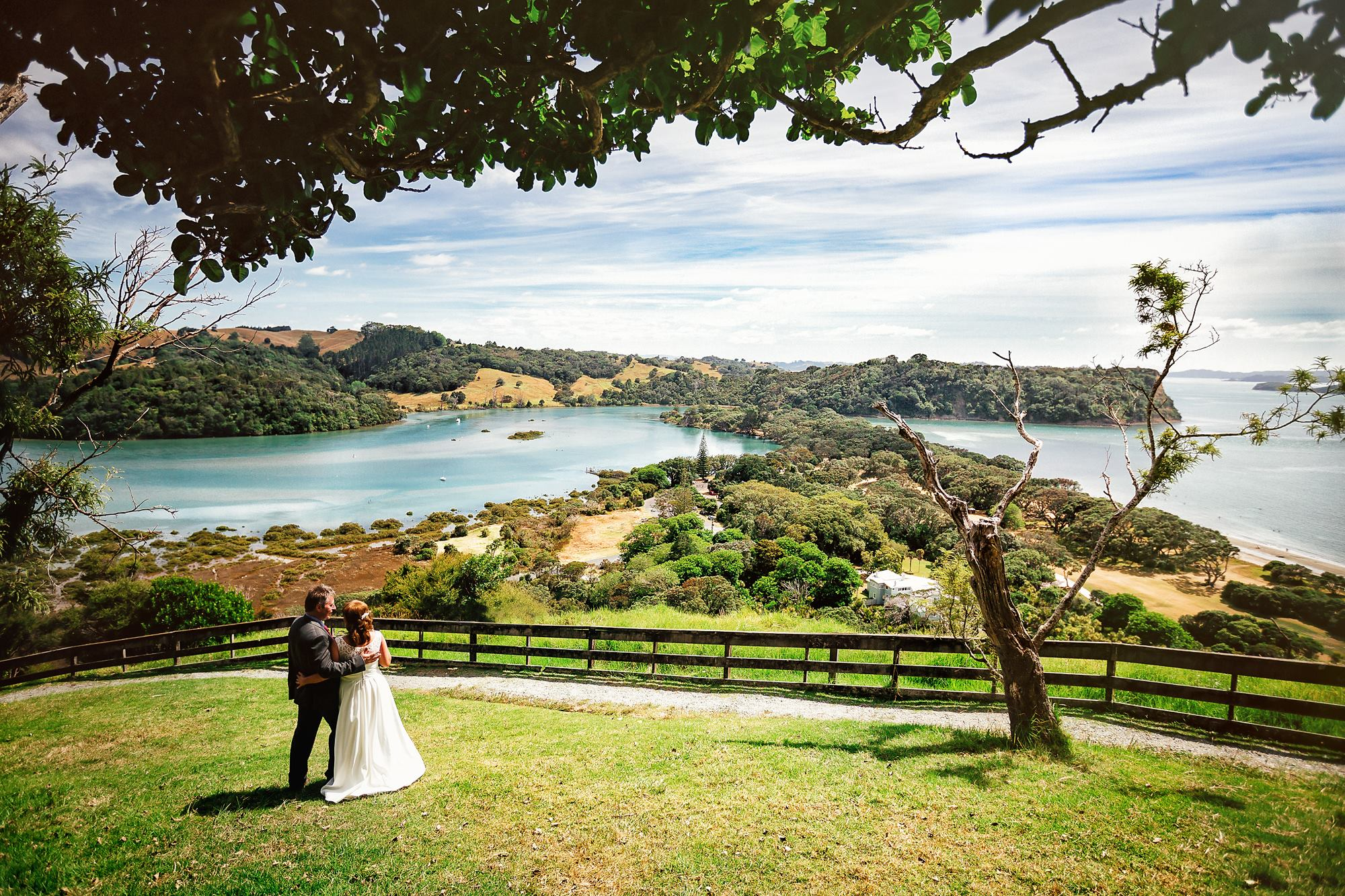 Wedding at the most beautiful and remote location eloping to New Zealand