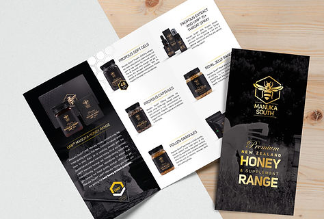 Manuka-Honey-creative-brochure-auckland.